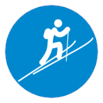 ski mountaining